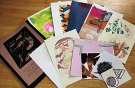 Cover and various prints from Lifestyle Plus Form Bundle, 2012 (artworks © Daniel Luedtke, Joel Parsons, and the artists)