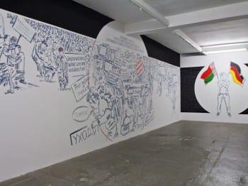 Marina Naprushkina, Self-Governing, 2012, installation view, KW Institute for Contemporary Art, Berlin, 2012 (artwork © Marina Naprushkina; photograph © Marta Gornicka, provided by Berlin Biennale)