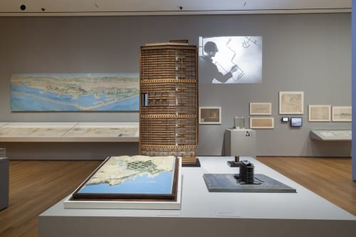 Le Corbusier: An Atlas of Modern Landscapes, installation view, Museum of Modern Art, New York, 2013 (photograph by Jonathan Muzikar © 2013 Museum of Modern Art)