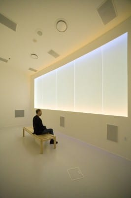 John Luther Adams, The Place Where You Go to Listen, 2008, sound and light environment, installation view, Museum of the North, University of Alaska Fairbanks, 2008–present (artwork © John Luther Adams)