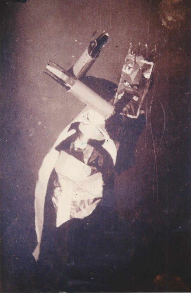 Sophie Taeuber,  Zurich, 1916/17. Stiftung Hans Arp und Sophie Taeuber-Arp e.V., Rolandswerth (photographer unknown; photograph provided by Stiftung Hans Arp und Sophie Taeuber-Arp