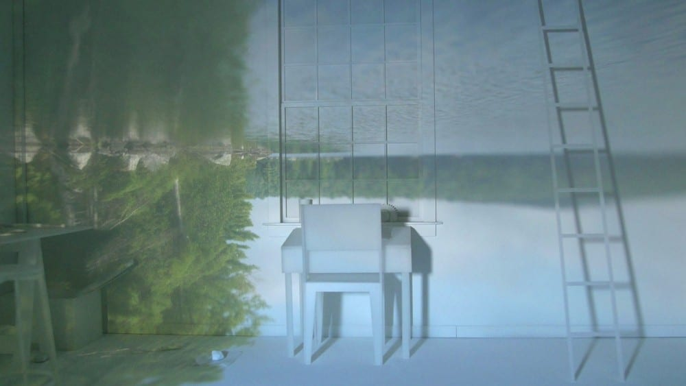 Video still from William Lamson, Untitled (Walden), 2014,  HD video with sound, 18:31 minutes (artwork © William Lamson)