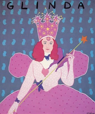 Rudy Lemcke, Glinda, 1988, acrylic on canvas, 36 x 30 in. (91.44 x 76.2 cm.), displayed in Group Material's AIDS Timeline (artwork © Rudy Lemcke)