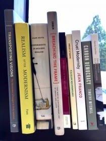 Megan A. Sullivan's Bookshelf (photograph © Megan A. Sullivan)
