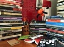 Judith Rodenbeck's Bookshelf (photograph © Judith Rodenbeck)