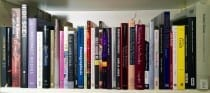 Jongwoo Jeremy Kim's Bookshelf (photograph © Jongwoo Jeremy Kim)