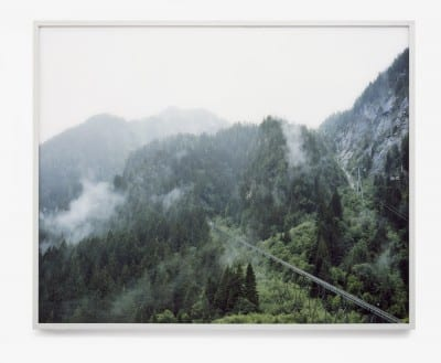 Gert Jan Kocken, Kaprun (Austria), On November 11th 2000 at least 159 people die in a fire in a skying train, from the series Disaster Areas, 2001, C-print, 47¼ x 59 in. (120 x 150 cm) (artwork © Gert Jan Kocken; photograph provided by the artist)