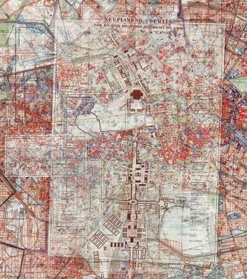 Gert Jan Kocken, detail of Depictions of Berlin, 1933–1945, 2010, C-print,  118⅛ x 169⅜ in. (300 x 430 cm) (artwork © Gert Jan Kocken; photograph provided by the artist)