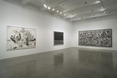 Robert Longo, Gang of Cosmos, installation view, Metro Pictures, New York, 2014 (artwork © Robert Longo)