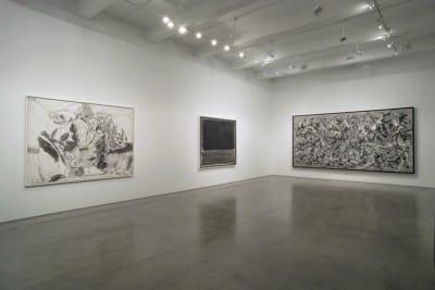 Robert Longo, Gang of Cosmos, installation view, Metro Pictures, New York, 2014 (artwork © Robert Longo)