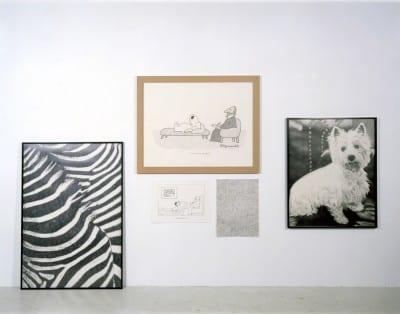 Karl Haendel, Shrink, 2005, five drawings of pencil on paper, dimensions vary (artwork © Karl Haendel)
