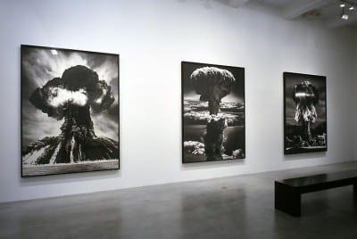 Robert Longo, Sickness of Reason, installation view, Metro Pictures, New York, 2004 (artwork © Robert Longo)