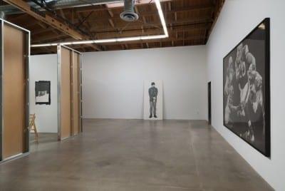 Karl Haendel, Informal Family Blackmail, installation view, Susanne Vielmetter Los Angeles Projects, Culver City, California, 2012 (artwork © Karl Haendel)