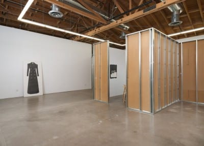 Karl Haendel, Informal Family Blackmail, installation view, Susanne Vielmetter Los Angeles Projects, Culver City, California, 2012 (artwork © Karl Haendel)