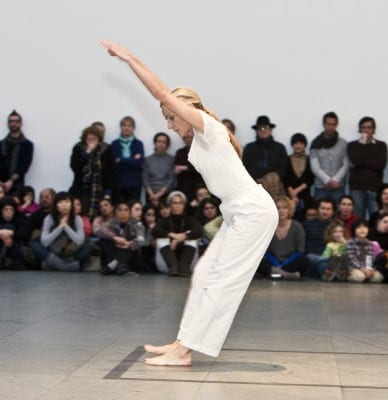 "Trisha Brown, Locus Solo, 2011, performed by Diane Madden in ""Performance 11: OnLine/Trisha Brown Dance Company"" in conjunction with the exhibition On Line: Drawing through the Twentieth Century, Museum of Modern Art, New York, January 2011 (photographs © Yi-Chun Wu; photographs provided by Museum of Modern Art/Licensed by SCALA/Art Resource, NY)"