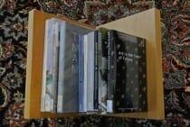 Alexandra Nitschke's Bookshelf (photograph © Alexandra Nitschke)
