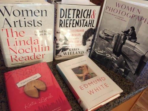 Elise Dodeles's Bookshelf (photograph © Elise Dodeles)