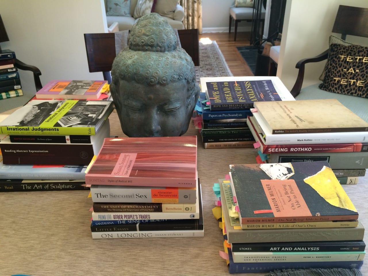 Bookshelf: Lynn M  Somers - Art Journal Open
