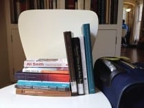 Lisa Pon's Bookshelf (photograph © Lisa Pon)