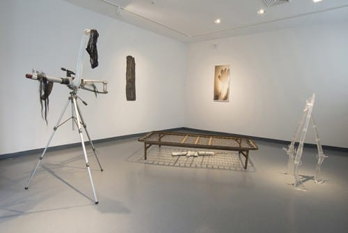 Roberto Visani, In Medias Res, installation view, Guttenberg Arts, Guttenberg, New Jersey, 2015 (artwork © Roberto Visani)