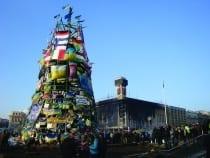 Independence Square, Kyiv, February 21, 2014  (photograph © Borys Harasymiv)