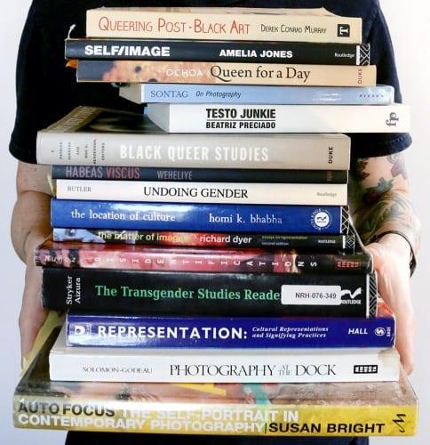 Ace Lehner's Bookshelf (photograph © Ace Lehner)