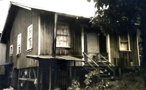 Honohina Upper Camp House #603, built 1925 (photograph provided by the University of Hawaiʻi-Mānoa Hamilton Library, Hawaiian Collection, Hawaiian Sugar Planters' Association Plantation Archives; special thanks to Susan Forbes)
