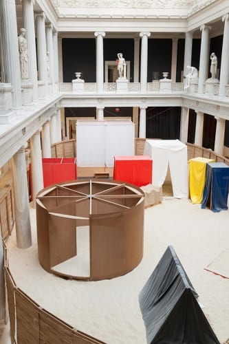 Installation view, Hélio Oiticica: To Organize Delirium, Carnegie Museum of Art, Pittsburgh, 2016 (photograph by Bryan Conley provided by Carnegie Museum of Art)