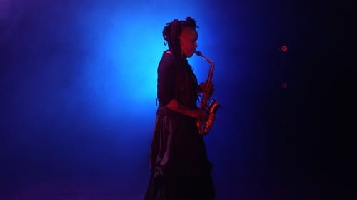 Matana Roberts performs the OOO Sax Solo. A.K. Burns, video still from A Smeary Spot, 2015, four-channel video installation, HD color, six-channel sound, TRT 53:13 (artwork © A.K. Burns; image provided by the artist, Callicoon Fine Arts, NY, and Michel Rein Gallery, Paris/Brussels)