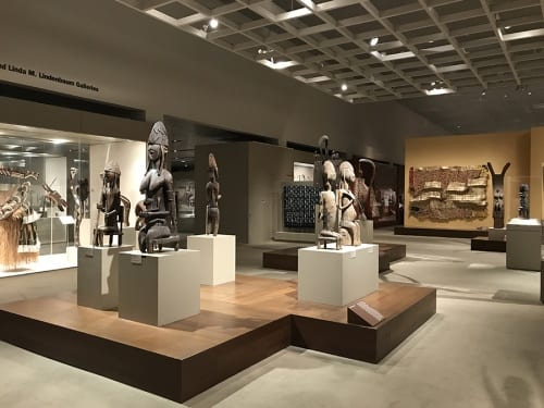 African galleries in the Michael C. Rockefeller Wing, the Metropolitan Museum of Art, New York, 2016 (photograph by Risham Majeed)