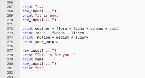 """divination.py"": A Lyric Algorithm for the Augury of Attunement"