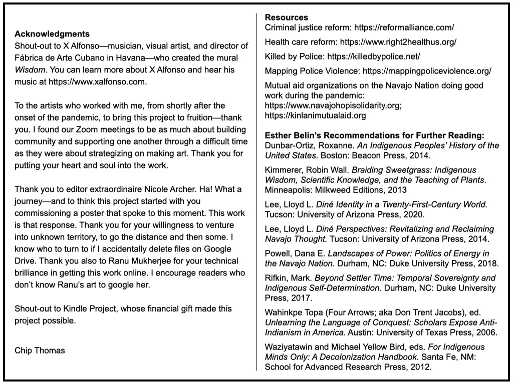 Acknowledgments + Resources
